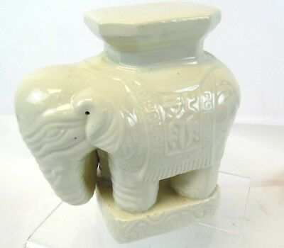 Plant Stands Elephant Asian Hand Painted 8 5 Quot Glazed