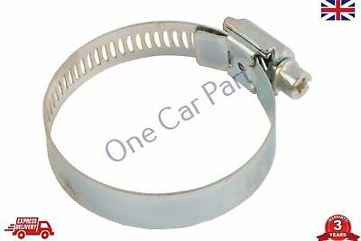 Jubilee Clips Stainless Steel Secure Fastening Hose Clamps Worm Drive, 44 - 64mm