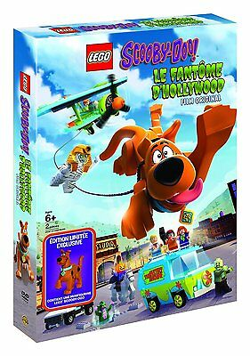 LEGO DVD SCOOBY-DOO! - Le Fantôme d'Hollywood + SCOOBY DOO minifigure EXCLUSIVE