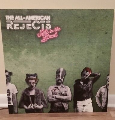 ALL-AMERICAN REJECTS display poster board * RARE! promo only