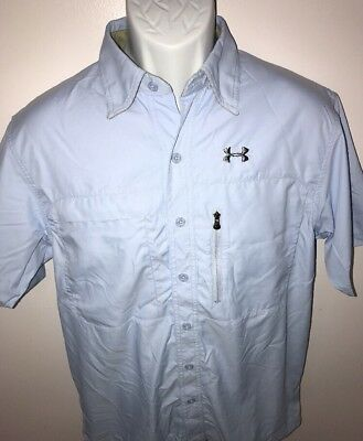 nwt under armour hydro armour upf heat gear blue gray