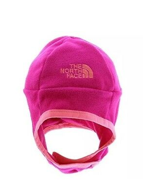 39fafe634aa THE NORTH FACE Baby Infant Nugget Beanie Hat Cabaret Pink Size XXS 0 ...