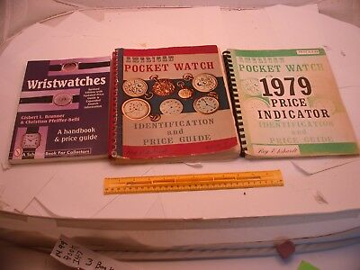 Book 147 - Lot of 3 watch books