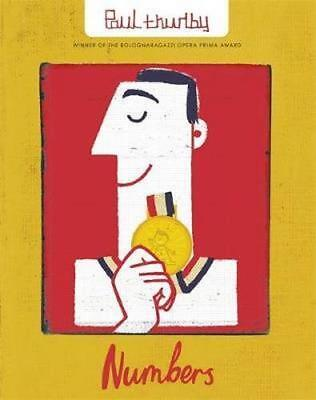 NEW Numbers By Paul Thurlby Paperback Free Shipping