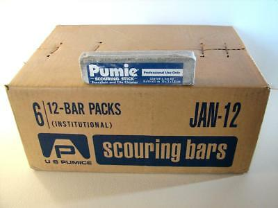 Pumie Scouring Bars, Case of 72 Pumice Sticks, 6 Cleaning Stick 12-packs