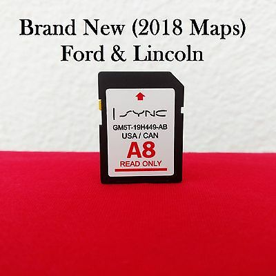 NEW A9 2019 MAP UPDATE Navigation SD CARD SYNC FITS ALL FORD
