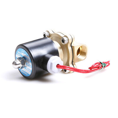 "1/2"" Electric Solenoid Valve For Water Air Oil N/C 220V ±10%  Normally Closed"
