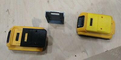 20v Dewalt battery - dust and protective cover, wall mount compatible
