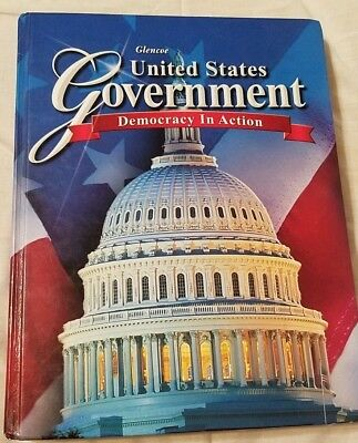 UNITED STATES GOVERNMENT -  Democracy In Action HARDCOVER