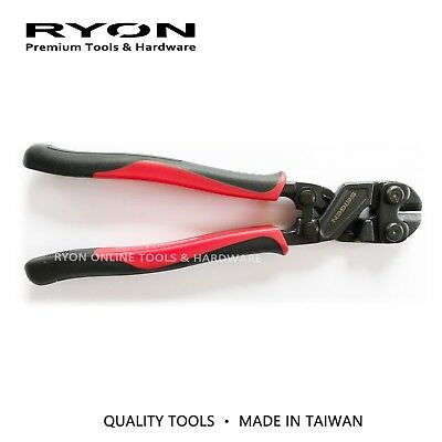 """8"""" 200mm Mini Bolt Cutter Harden Blade Heavy Duty Wire Fence Snip Made in Taiwan"""