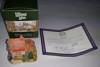 Lilliput Lane 1999 Finders Keepers miniature house hand made in England