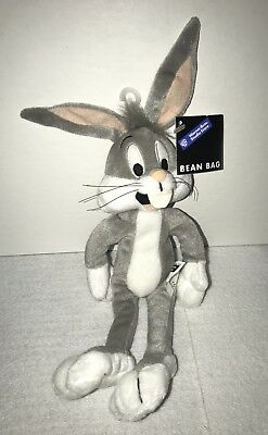 Warner Brothers Bugs Bunny Plush With Tags Bean Bag Plush Toy WB