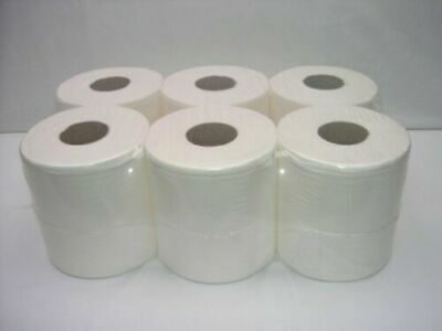 (Pack Of 3) 18 Rolls Active White Centre Feed Rolls Wipe Towel Tissue Low Price