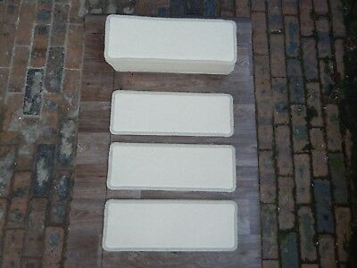 15 open plan carpet stair pad treads  set 311
