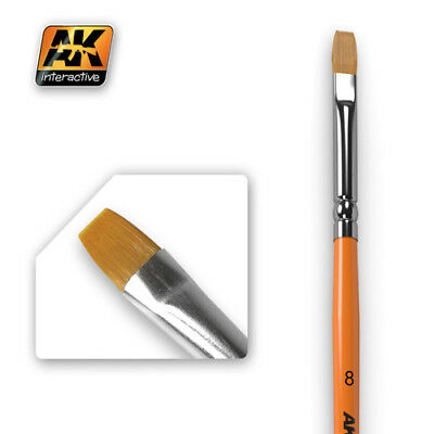 Ak-Interactive Flat brushes synthetic, new!