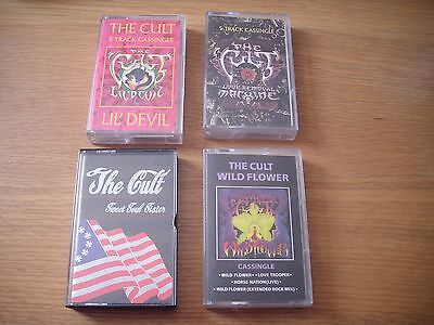 the cult lil devil wild flower sweet soul sister love removal cassette singles