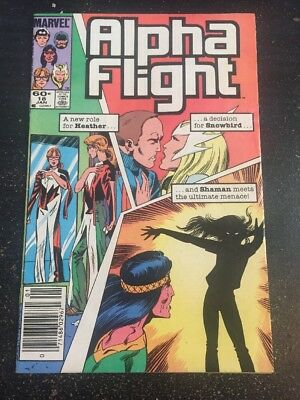 Alpha Flight#18 Awesome Condition 8.0(1985)  Byrne Art!!