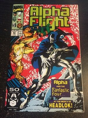 Alpha Flight#93 Incredible Condition 9.2(1991) Fantastic Four App!!