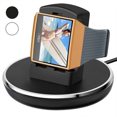Smart Watch Accessories Fitbit Ionic Charger Stand For Women Men Top Quality