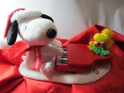 2009 Hallmark Jingle Pals Swinging With Snoopy And Woodstock Motion Music Lights