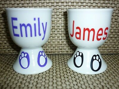 Personalised Easter Egg Cup -Great gift for someone special.