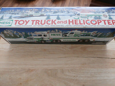 1995 Hess Truck & Helicopter New in Box