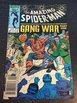 "Amazing Spider-Man#284 Awesome Condition 5.0(1987)""Gang War"""