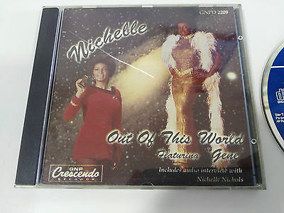 Michelle Nichols Out Of This World Cd + Interview Feat Gene Star Trek 1991