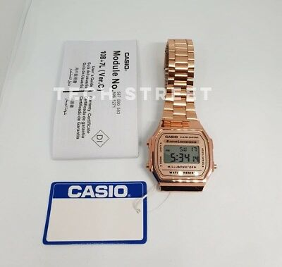 CASIO Classic Watch-A168WA-1YES Rose Gold - Perfect Valentines gift