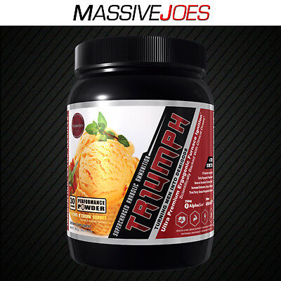 OLYMPUS LABS TR1UMPH 30 serves Highly Anabolic and Ergogenic Supplement