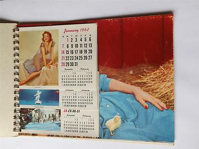 Salesman Calendar Samples Vintage 1961 Brook-Crafts Picture Selection Plaks