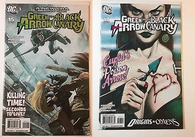 Green Arrow and & Black Canary #15 17 Ladronn Covers - First Appearance of Cupid