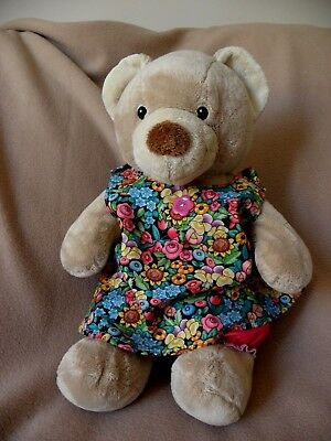 Sundress/bloomers to fit Pumpkin Patch teddy girls 15 inch Build a bear clothes