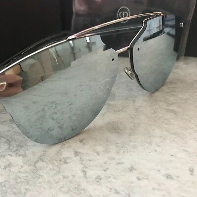 2585bfd11a Christian Dior REFLECTED P PIXEL Palladium Grey Pixel Mirror Sunglasses  100% UV