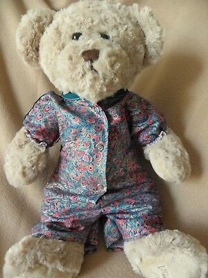 Print all in one to fit Pumpkin Patch teddy  girl 15 inch  bear clothes