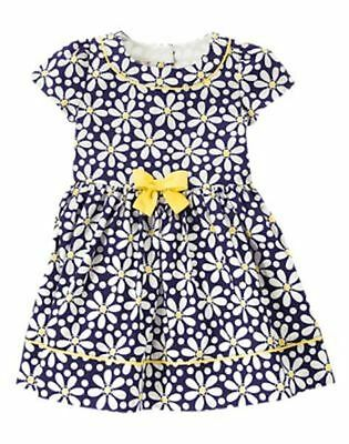 NWT Gymboree Flower Shower Daisy Dress Toddler Girl 12 18-24 mo 2T 3T