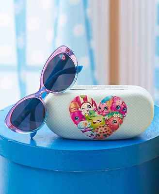 SHOPKINS Girl's Sunglasses with Protective Case-Brand New! Great Easter Gift!