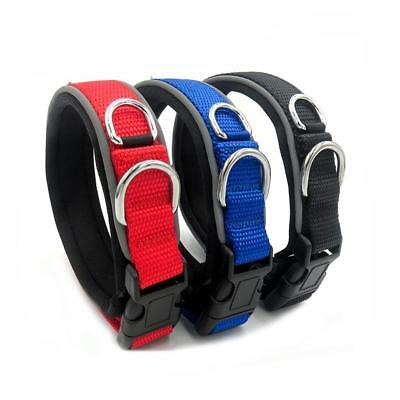 Adjustable.Strong Soft Fabric Dog Puppy Pet Collar with Buckle and Clip fo COP