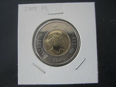2005 Canada $2 (Twoonie) Proof-Like  two dollars coin