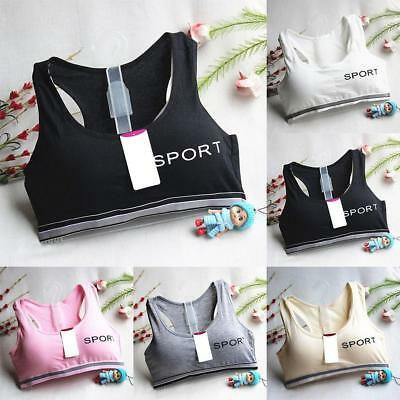 Girls Underclothes Sport Girl Children Comfy  Bra Underwear Bow Lingerie T COP