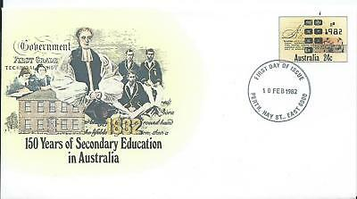 1982 150 Years of Secondary Education in Australia FDC PSE