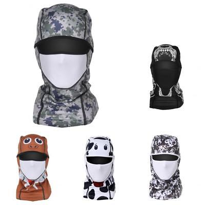 Breathable Motorcycle Helmets Windproof Full Face Mask Outdoor Cycling Scarf