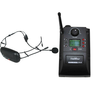 UHF Wireless headset transmitter wireless microphone for Stage performance