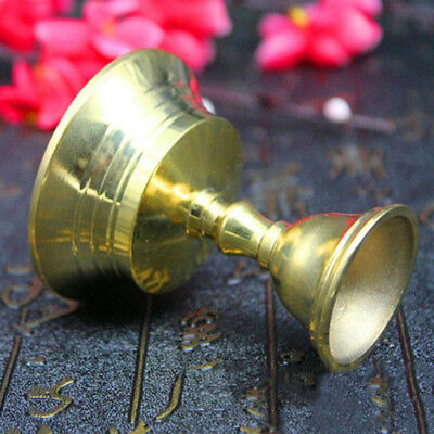 Candlestick Candle Holder Candelabrum Retro Copper Alloy Golden Party