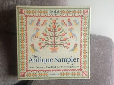 The Antique Sampler Set.. Cross Stitch ..
