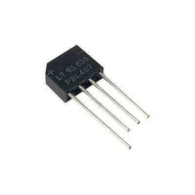 Pbl407 4Amp 1000V Silicon Bridge Rectifier Diode (Kbl407)