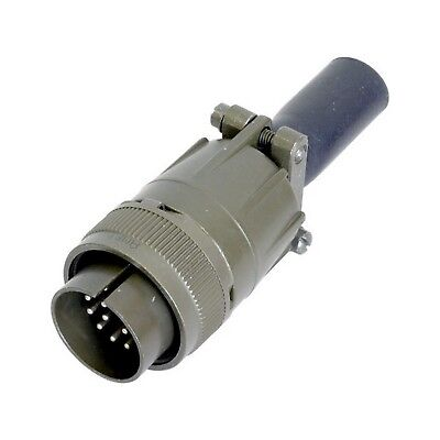 17 Pin Inline Plug Ms97 Military Style