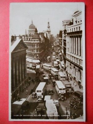 LONDON  :  Mansion House and Cheapside.......VO.1946.