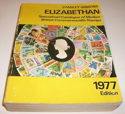 Stanley Gibbons Catalogue – Elizabethan Modern British Commonwealth Stamps 1977
