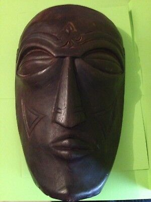 Mask Tribal African Hand Carved Wooden .